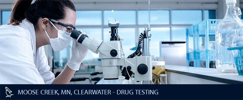 MOOSE CREEK MN CLEARWATER DRUG TESTING
