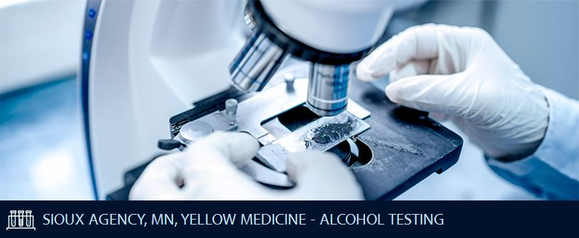 SIOUX AGENCY MN YELLOW MEDICINE ALCOHOL TESTING