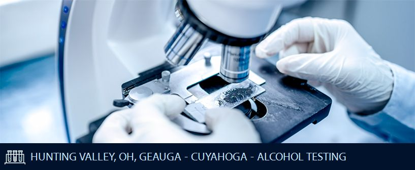 HUNTING VALLEY OH GEAUGA CUYAHOGA ALCOHOL TESTING