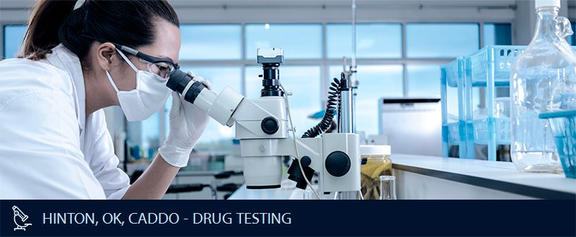 HINTON OK CADDO DRUG TESTING