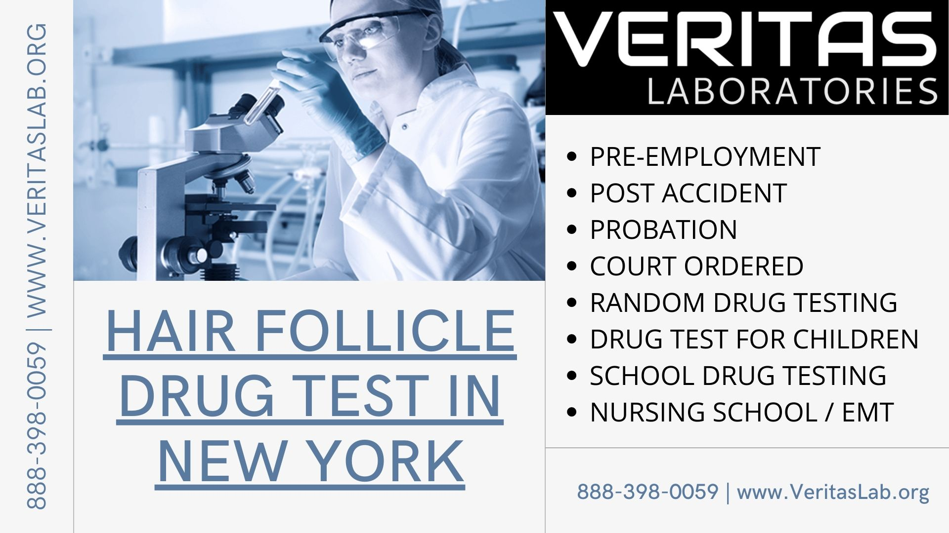 HAIR FOLLICLE DRUG TEST IN NEW YORK ALCOHOL ETG PETH BLOOD TEST EXPLAINED FAQ VERITAS LAB